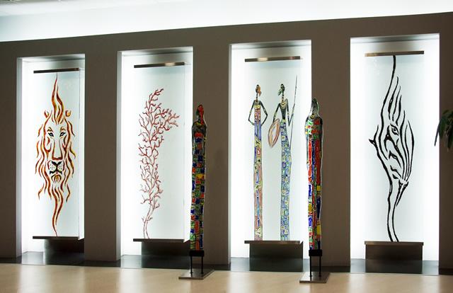 vetrate artistiche, lavorazione artigianale vetrate artistiche ... - Disegni Moderni Per Porte In Vetro